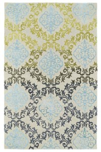 Nourison Signature Collection Heritage Hall (HE02-GRE) Rectangle 2'6