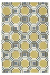 Nourison Nourtex India House (IH17-GLD) Rectangle 3'6