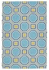 Nourison Nourtex India House (IH18-GRE) Rectangle 5'0