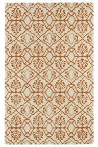 Nourison Nourtex India House (IH66-OLI) Rectangle 3'6