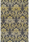 Nourison Collection Library Living Treasures (LI04-BRN) Runner 2'6