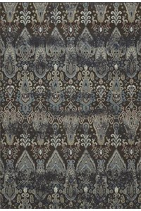 Nourison Collection Library Living Treasures (LI05-AQU) Runner 2'6