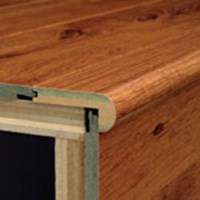 "Armstrong Cumberland: Flush Stair Nose Heirloom Pine - 47"" Long"
