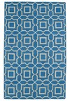 Nourison Collection Library Parthia (PT09-AQU) Rectangle 3'6