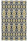 Nourison Collection Library Saffira (SA03-GLD) Runner 2'0