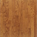 "Bruce Turlington Lock&Fold Oak: Butterscotch 3/8"" x 5"" Engineered Oak Hardwood EAK26LG"