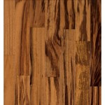 "Armstrong The Valenza Collection (Solid) Tigerwood: Natural 3/4"" x 3 1/2"" Solid Tigerwood Hardwood TG462NAY"