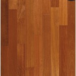 "Armstrong Valenza Collection (Engineered) Kempas: Natural 5/8"" x 3 1/2"" Engineered Kempas Hardwood KE422NAY"