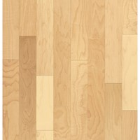 "Armstrong Sugar Creek Solid Strip: Natural 3/4"" x 2 1/4"" Solid Maple Hardwood SCM631NALGY"