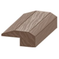 "Columbia Chase Hickory: Threshold Leather Hickory - 84"" Long"