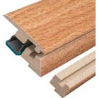 "Columbia Beacon Oak with Uniclic: Incizo Trim Henna - 84"" Long"