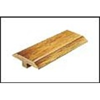 "Mannington Chesapeake Hickory: T-mold Cherry Spice - 84"" Long"