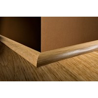 "Kahrs Linnea City Collection: Quarter Round White Oak Gunstock - 96"" Long"
