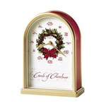 Howard Miller 645-424 Carols of Christmas II Anniversary & Musical Clock