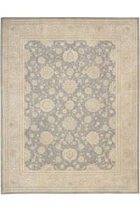 Capel Rugs Creative Concepts Cane Wicker - Canvas Buttercup (127) Octagon 4' x 4' Area Rug