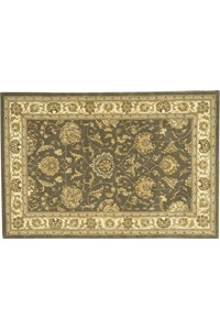 Capel Rugs Creative Concepts Cane Wicker - Fife Plum (470) Octagon 4' x 4' Area Rug