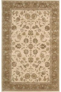 Capel Rugs Creative Concepts Cane Wicker - Arden Chocolate (746) Octagon 4' x 4' Area Rug