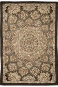 Capel Rugs Creative Concepts Cane Wicker - Dupione Bamboo (100) Octagon 10' x 10' Area Rug