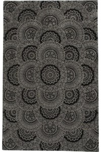 Capel Rugs Creative Concepts Cane Wicker - Canvas Spa Blue (427) Octagon 10' x 10' Area Rug