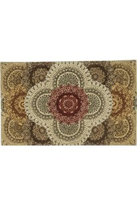 Capel Rugs Creative Concepts Cane Wicker - Vierra Navy (455) Octagon 10' x 10' Area Rug