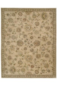 Capel Rugs Creative Concepts Cane Wicker - Java Journey Chestnut (750) Octagon 10' x 10' Area Rug