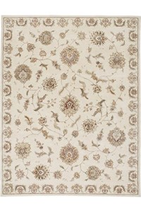 Capel Rugs Creative Concepts Cane Wicker - Bamboo Tea Leaf (236) Octagon 12' x 12' Area Rug