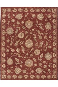 Capel Rugs Creative Concepts Cane Wicker - Granite Stripe (335) Octagon 12' x 12' Area Rug