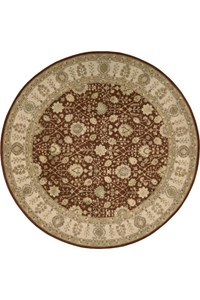 Capel Rugs Creative Concepts Cane Wicker - Tampico Rattan (716) Octagon 12' x 12' Area Rug