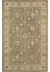 Capel Rugs Creative Concepts Cane Wicker - Tuscan Stripe Adobe (825) Octagon 12' x 12' Area Rug