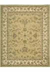 Capel Rugs Creative Concepts Cane Wicker - Canvas Fern (274) Runner 2' 6