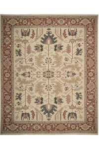 Capel Rugs Creative Concepts Cane Wicker - Dupione Bamboo (100) Runner 2' 6