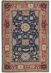 Capel Rugs Creative Concepts Cane Wicker - Canvas Parrot (247) Runner 2' 6