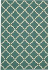 Capel Rugs Creative Concepts Cane Wicker - Tuscan Vine Adobe (830) Rectangle 3' x 5' Area Rug