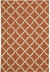 Capel Rugs Creative Concepts Cane Wicker - Canvas Buttercup (127) Rectangle 4' x 4' Area Rug