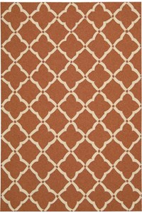 Capel Rugs Creative Concepts Cane Wicker - Canvas Brass (180) Rectangle 4' x 4' Area Rug