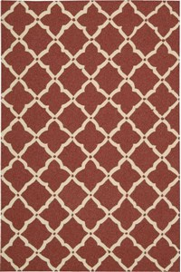 Capel Rugs Creative Concepts Cane Wicker - Cayo Vista Tea Leaf (210) Rectangle 4' x 4' Area Rug