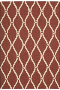 Capel Rugs Creative Concepts Cane Wicker - Vierra Onyx (345) Rectangle 4' x 4' Area Rug