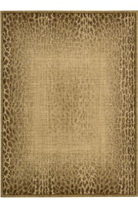 Capel Rugs Creative Concepts Cane Wicker - Canvas Melon (817) Rectangle 4' x 4' Area Rug