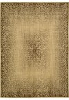 Capel Rugs Creative Concepts Cane Wicker - Tuscan Stripe Adobe (825) Rectangle 4' x 4' Area Rug