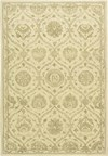 Capel Rugs Creative Concepts Cane Wicker - Bahamian Breeze Ocean (420) Rectangle 4' x 6' Area Rug