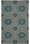 Capel Rugs Creative Concepts Cane Wicker - Vierra Navy (455) Rectangle 6' x 6' Area Rug