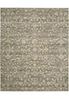 Capel Rugs Creative Concepts Cane Wicker - Canvas Charcoal (355) Rectangle 7' x 9' Area Rug