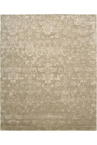 Capel Rugs Creative Concepts Cane Wicker - Granite Stripe (335) Rectangle 8' x 8' Area Rug