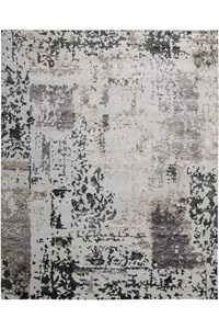 Capel Rugs Creative Concepts Cane Wicker - Bahamian Breeze Coal (325) Rectangle 8' x 10' Area Rug