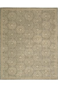 Capel Rugs Creative Concepts Cane Wicker - Down The Lane Ebony (370) Rectangle 8' x 10' Area Rug
