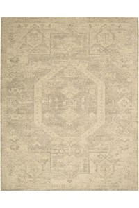 Capel Rugs Creative Concepts Cane Wicker - Tuscan Stripe Adobe (825) Rectangle 8' x 10' Area Rug