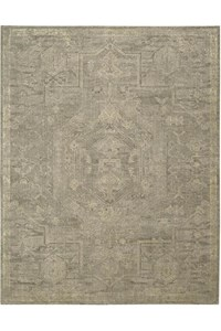 Capel Rugs Creative Concepts Cane Wicker - Tuscan Vine Adobe (830) Rectangle 8' x 10' Area Rug