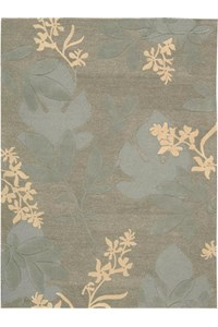 Capel Rugs Creative Concepts Cane Wicker - Canvas Buttercup (127) Rectangle 10' x 10' Area Rug