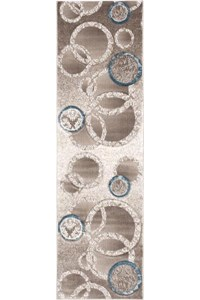 Capel Rugs Creative Concepts Cane Wicker - Bahamian Breeze Coal (325) Rectangle 10' x 10' Area Rug