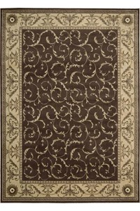 Capel Rugs Creative Concepts Cane Wicker - Cayo Vista Sand (710) Rectangle 10' x 10' Area Rug